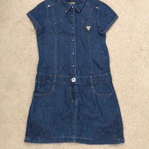 GUESS Denim Mini Dress XL